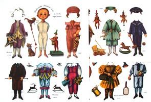 Histrorické oblečení chlapců