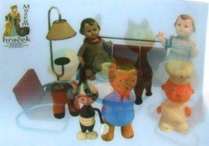 Hračky z druhé poloviny 20. století ve 3D